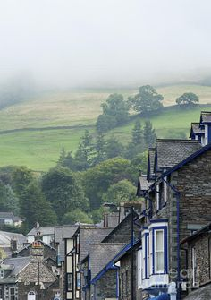 ✯ The village of Ambleside in the Lake district, UK