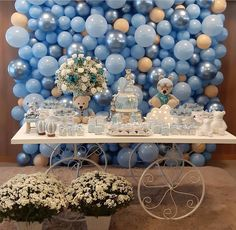 20 fun and modern baby shower games 2019 Page 3 of 25 Deco Baby Shower, Boy Baby Shower Themes, Baby Shower Balloons, Birthday Balloons, Baby Shower Games, Baby Boy Shower, Diy Birthday Decorations, Balloon Decorations, Baby Shower Decorations