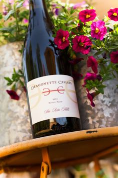 2011 Dragonette Cellars Sta. Rita Hills Pinot Noir Santa Barbara County, In Vino Veritas, Pinot Noir, Wine Recipes, Wines, Bottle, Food, Flask, Essen