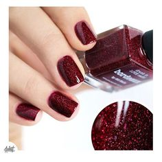 """""""Camille aka @pshiiit_polish wearing 'Bordeaux' ❤️❤️thank you :) Shoplink in bioor www.picturepolish.com.au + we ship to selected countries and for…"""""""