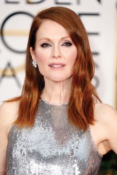 "Formula: Julianne Moore's ""Ronze"" with Pravana  #pravana #haircolor #howto #tutorial #redhead"