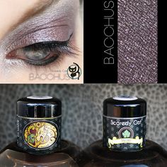 Violet Gray Grey Mineral Eye Shadow  by ScaredyCatCosmetics