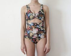 One Piece Floral Bather #Etsy