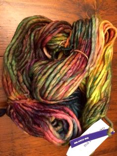 My love - Malabrigo Rasta! I love to rug hook this in contemporary rugs! I get mine from Raveled Sleave online from BC, Canada for the best price