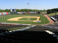 Knights Stadium - Fort Mill, SC  Home of the AAA Charlotte Knights  (and where my husband and I had our first date :)
