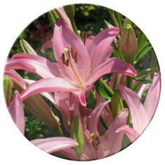 Precious Pink Porcelain Plates