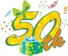 At 50, you are HAFLWAY to 100--what a HUGE Milestone that only happens once in a lifetime... so what do you get for someone turning 50?    This...
