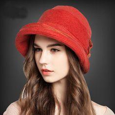 Top Hat Autumn And Winter Hats For Woman Ladies Fedora Cap Bow 2016   hatsforwomenautumn 897e13c5230