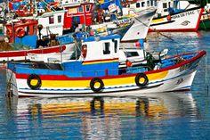Fishing boats ... in Sesimbra / Setúbal, Portugal