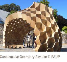 suckerPUNCH » Constructive Geometry Pavilion