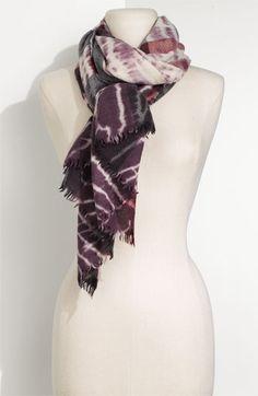 Burberry Tie-Dye Scarf (in Juniper)