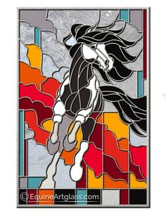 NEW! Patterns   Equine Artglass  This pattern is currently waiting for purchase.  Custom stained glass horses and patterns for purchase are found at EquineArtglass.com or on Pinterest at my Equine Artglass board.