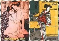 浮世絵師・葛飾北斎が描いた「冨嶽三十六景」切手とその他の作品