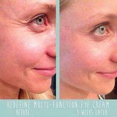 More results with Rodan + Fields' REDEFINE Multi-Function Eye Cream! ginagriffiths.myrandf.com