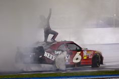 Ricky Stenhouse Jr. wins at Atlanta Motor Speedway!