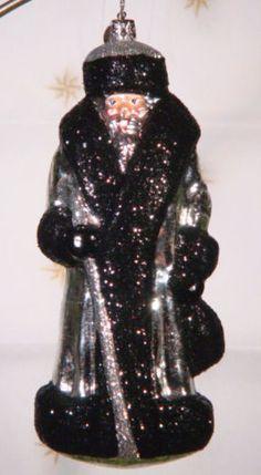 Radko 3011132 Evening Russian Santa Exclusive Silver Retired Ornament   eBay