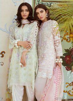 Farah Talib Aziz Eid Collection 2018 Eid Outfits Pakistani, Pakistani Dresses Casual, Pakistani Couture, Eid Dresses, Pakistani Dress Design, Indian Couture, Indian Dresses, Indian Outfits, Pakistani Dresses Shalwar Kameez
