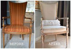 Upholstered Chair makeover