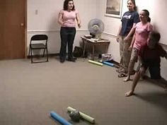 Want to try, think our group is too big for this though. (Thankful!!) Morphball - Youth Group Game