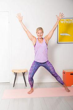 Kotitreeniohjeet - Rasvanpolttojumppa 20 min | Keventäjät.fi Fitness, Pants, Health, Fashion, Gymnastics, Moda, Trousers, Salud, Women Pants