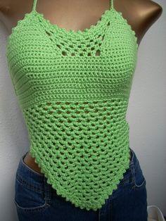 Free+Easy+Crochet+Patterns | CROCHETED FREE HALTER PATTERN TOP « CROCHET FREE PATTERNS