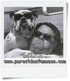 Parecidos con famosos: Perro  con Hombre