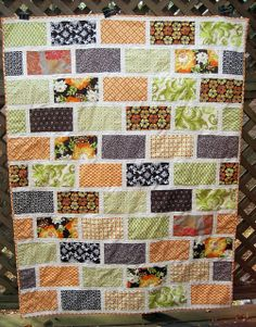 layer cake quilts | Another gorgeous easy quilt - perfect for a layer cake!