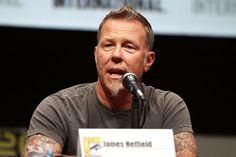 James Hetfield, lead singer Metallica