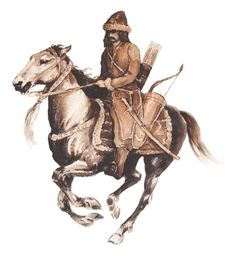 Tatar cavalryman, 17th century