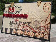 95th Birthday Card for Grandma