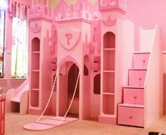 Picture: ENCHANTED PRINCESS CASTLE w STAIRCASE.jpg provided by Neverland Theme Beds Abilene, TX 79606