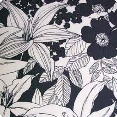 line drawing floral