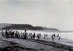 Dragging Nets at St. Marie, Fort de France