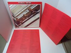 The Beatles ‎– 1962-1966 (The Red Album) [Gatefold] [Re-Issue]