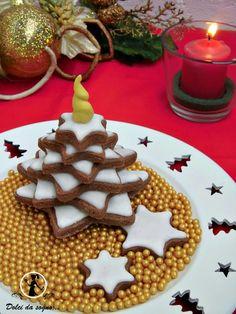 Dolci da sogno...: Biscotti albero di Natale in 3D