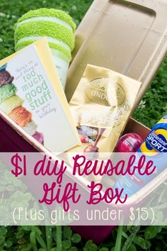 The $1 DIY Gift Box (And How to Create a Last-Minute Gift under $15!)