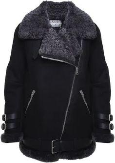 1c4a5926185e Die 14 besten Bilder von acne shearling   Acne shearling jacket ...