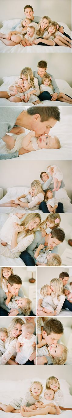 Beautiful Family Photo Session | Loving Family with Three Children Fine Art Lifestyle Photography