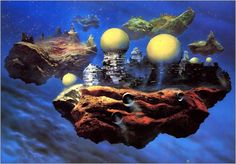 Meet Chris Foss, the face of retrofuturistic spaceship art. You may not know his name, but you've seen his art inGuardians of the GalaxyAlien, and his influence just about everywhere. Art Science Fiction, Science Icons, Michael Johnson, Hifi Video, Arte Sci Fi, Alternate Worlds, 70s Sci Fi Art, Spaceship Art, Days Of Future Past