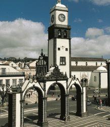Gates to the city Ponta Delgada