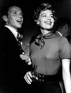 Frank Sinatra and Ava Gardner, 1950s