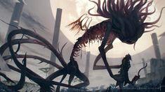 Bloodborne Art, Dark Souls 2, Old Blood, Eldritch Horror, Fandom Games, Fan Art, Horror Art, Dungeons And Dragons, Fantasy Art