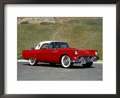 1956 Thunderbird. After restoration, this is what my girl will look like...