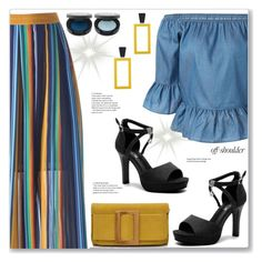 Casual Colorful Skirt by jecakns on Polyvore featuring polyvore fashion style clothing