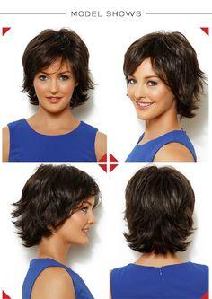 _06 Short Shaggy Haircuts, Shaggy Short Hair, Modern Short Hairstyles, Haircuts For Fine Hair, Short Hair With Layers, Short Hair Cuts For Women, Medium Hair Cuts, Medium Hair Styles, Curly Hair Tips