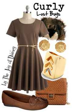 Outfit inspired by Curly (the bear) from the Lost Boys in Peter Pan!