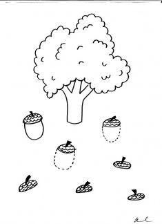 témata na podzim v mš - Hledat Googlem Preschool Kindergarten, Preschool Worksheets, Art For Kids, Crafts For Kids, Autumn Activities For Kids, Pre Writing, Autumn Theme, Fine Motor, Art Projects