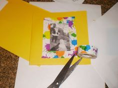 Using Mini Ducklings Tape on a Homemade Card from the Jolly Vox Box by Influenster