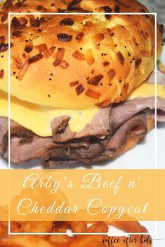 Craving an Arby's Beef n' Cheddar? Save money and make them at home. Craving an Arby's Beef n' Cheddar? Save money and make them at home. Copykat Recipes, Beef Recipes, Cooking Recipes, Cheddars Restaurant Recipes, Recipies, Vegan Recipes, Fondue Recipes, Lunch Recipes, Yummy Recipes