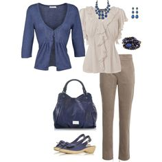 With diff shoes... Untitled #59, created by mistyleigh on Polyvore